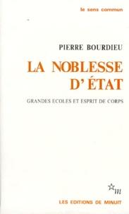 Pierre Bourdieu - LA NOBLESSE D'ETAT. - Grandes écoles et esprit de corps.