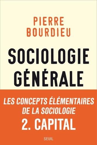 Sociologie générale. Volume 2, Cours au Collège de France (1983-1986)