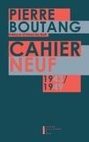 Pierre Boutang - Cahier neuf.