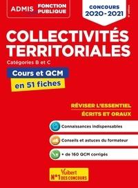 Pierre-Brice Lebrun - Collectivités territoriales catégories B et C - Cours et QCM en 51 fiches.