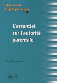 Deedr.fr L'essentiel de l'autorité parentale - Fiches de cours et cas pratiques corrigés Image