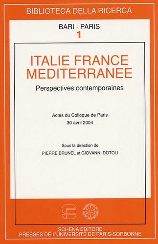 Pierre Brunel - Italie, France, Méditerranée - Perspectives contemporaines.