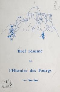 Pierre Bulle - Bref résumé de l'histoire des Fourgs.