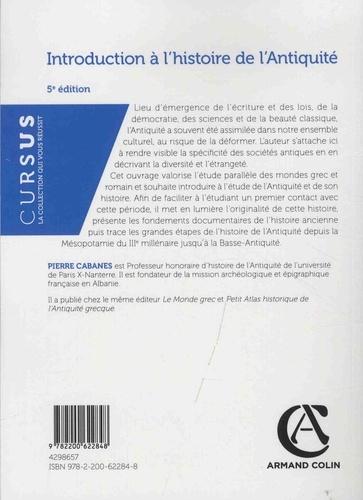 Introduction à l'histoire de l'Antiquité 5e édition