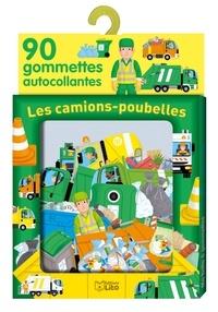 Pierre Caillou - Les camions-poubelles - 90 gommettes autocollantes.