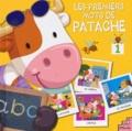 Pierre Caillou - Les premiers mots de Patache - Tome 1, Le jardin, la plage, le docteur, l'école.