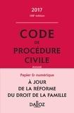 Pierre Callé et Laurent Dargent - Code de procédure civile 2017, annoté.