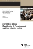 Pierre Canisius Kamanzi et Gaële Goastellec - L'envers du décor - Massification de l'enseignement supérieur et justice sociale.