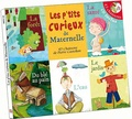 Pierre Castellan - Les p'tits curieux de maternelle - 43 chansons de Pierre Castellan. 2 CD audio