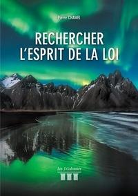 Pierre Chamel - Rechercher l'esprit de la loi.