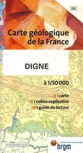 Pierre Charles de Graciansky - Digne - 1/50 000.