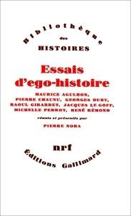 Pierre Chaunu et Georges Duby - Essais d'ego-histoire.