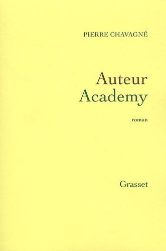 Pierre Chavagné - Auteur Academy.