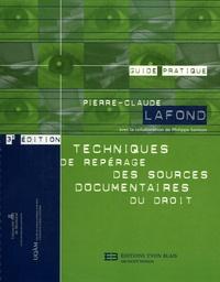 Techniques de repérage des sources documentaires du droit.pdf