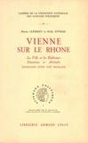 Pierre Clément et Nelly Xydias - Vienne sur le Rhône - La ville et les habitants, Situations et attitudes, Sociologie d'une cité française.