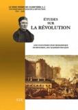 Pierre Cloriviere - Etudes sur la révolution.