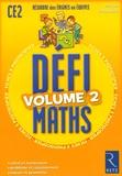 Pierre Colin et Christian Redouté - Défimaths CE2 - Volume 2.