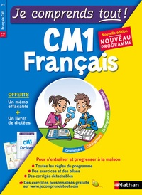Pierre Colin et Bernard Bron - Français CM1.