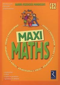 Pierre Colin et Bénédicte Colin - Maxi Maths CE2.