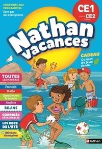 Pierre Colin et Bénédicte Colin - Nathan Vacances Du CE1 vers le CE2 7/8 ans.
