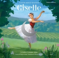 Pierre Coran - Giselle - Avec une illustration à encadrer. 1 CD audio MP3