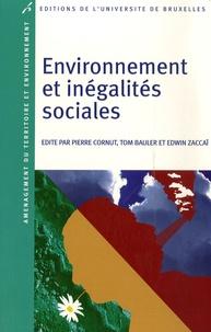 Pierre Cornut et Tom Bauler - Environnement et inégalités sociales.