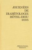 Pierre Corvol et Jean Favier - Journées annuelles de diabétologie de l'Hôtel-Dieu.