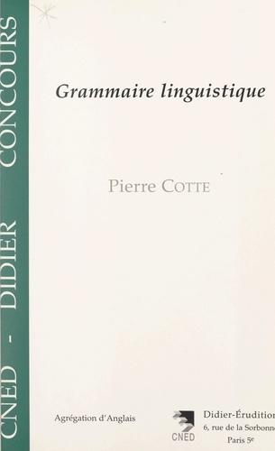 Grammaire linguistique