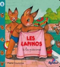 Pierre Couronne - Les lapinos à la piscine.