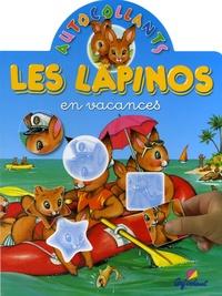 Pierre Couronne et Jacques Beaumont - Les Lapinos en vacances.