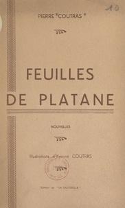 Pierre Coutras et Yvonne Coutras - Feuilles de platane.