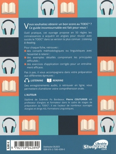 50 règles essentielles TOEIC. Listening and reading 2e édition