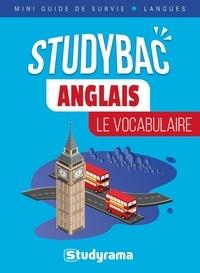 Pierre Couturier - Anglais : Le vocabulaire - Studybac mini guide de survie langues.