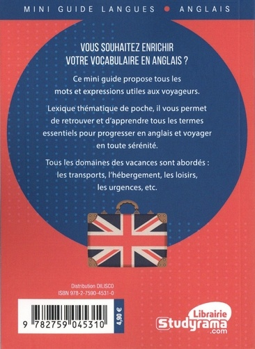 L'anglais des vacances en 1 000 mots et expressions clés