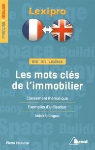 Pierre Couturier - Les mots clés de l'immobilier.