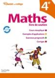 Pierre Curel et Josyane Curel - Maths 4e - Livre de soutien.