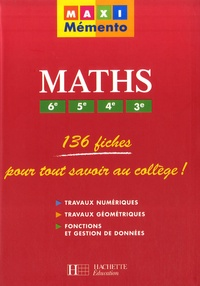 Pierre Curel et Josyane Curel - Maths 6e, 5e, 4e, 3e.