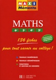 Pierre Curel et Josyane Curel - Maths 6e/5e/4e/3e.