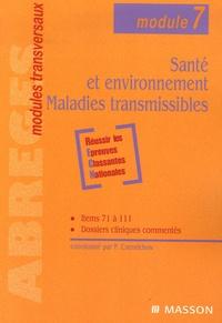 Pierre Czernichow - Santé et environnement, Maladies transmissibles.