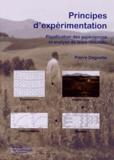 Pierre Dagnelie - Principes d'expérimentation - Planification des expériences et analyse de leurs résultats.
