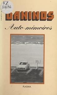Pierre Daninos - Auto-mémoires.