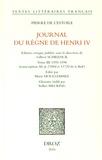 Pierre de L'Estoile - Journal du règne de Henri IV - Tome 3, 1595-1598.