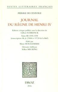 Deedr.fr Journal du règne de Henri IV - Tome 3, 1595-1598 Image