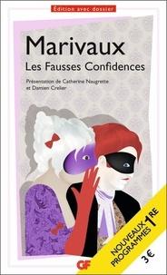 """Pierre de Marivaux - Les Fausses confidences - Programme nouveau bac 2021 1ère. Parcours """"Théâtre et stratagème""""."""