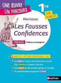 """Pierre de Marivaux - Les fausses confidences - Avec le parcours """"Théâtre et stratagème""""."""