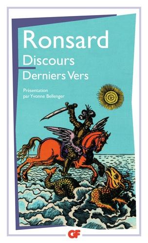 Pierre de Ronsard - Discours - Derniers vers.