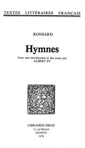 Pierre de Ronsard - Hymnes.