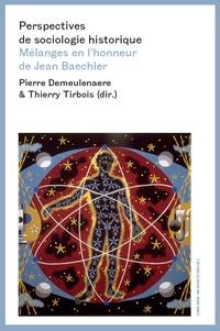 Pierre Demeulenaere et Thierry Tirbois - Perspectives de sociologie historique - Mélanges en l'honneur de Jean Baechler.