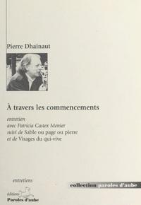 Pierre Dhainaut - .