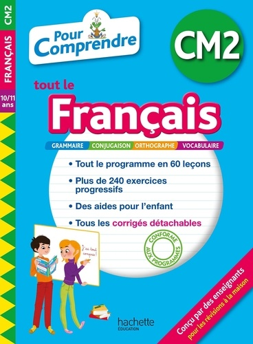 Pour Comprendre Tout Le Francais Cm2 Grand Format